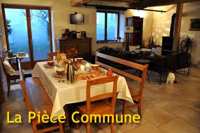 Chambres d\'hôtes - La Croix Saint Jean - Parties communes