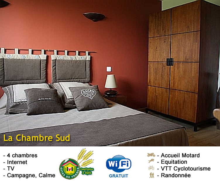 chambre d hote la croix saint jean chambre sud chambres d 39 h tes. Black Bedroom Furniture Sets. Home Design Ideas